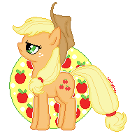 Applejack by cowzorz