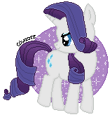 Rarity by cowzorz