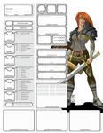 Customizable Character Sheet