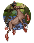 Mudsdale Centaur