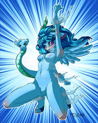 Blue Chimera