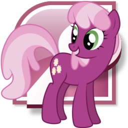 Cheerilee Microsoft Access icon by tauts05