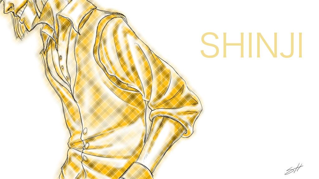 Eye Catch-Shinji by dramaelfie
