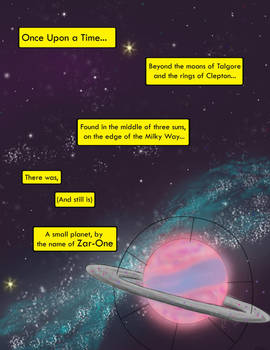 Earthling's from another Planet page #1