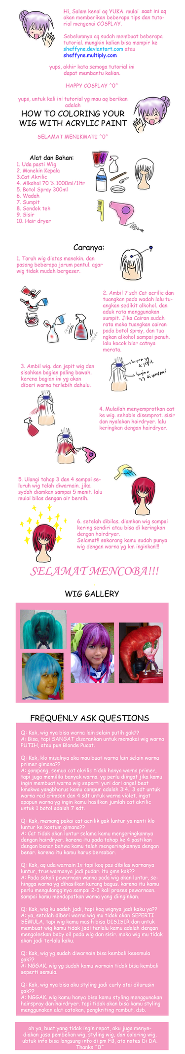 Tutorial: coloring wig by sheffyne