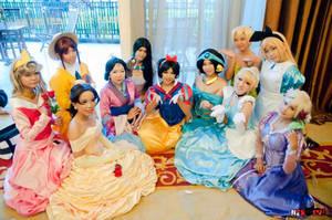 disney princess team by sheffyne