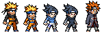 Narutos characters by VEGETA-EVT