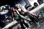 .::Poison Ivy and Harley Quinn::.