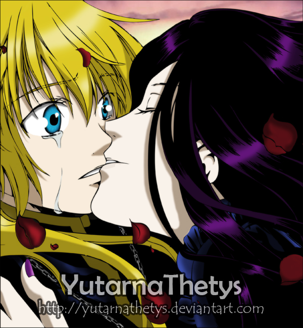 .::Alone/Hades X Pandora Kiss::. By YutarnaThetys On