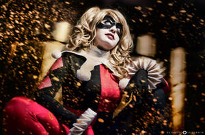 Harley Quinn in the dark by YutarnaThetys