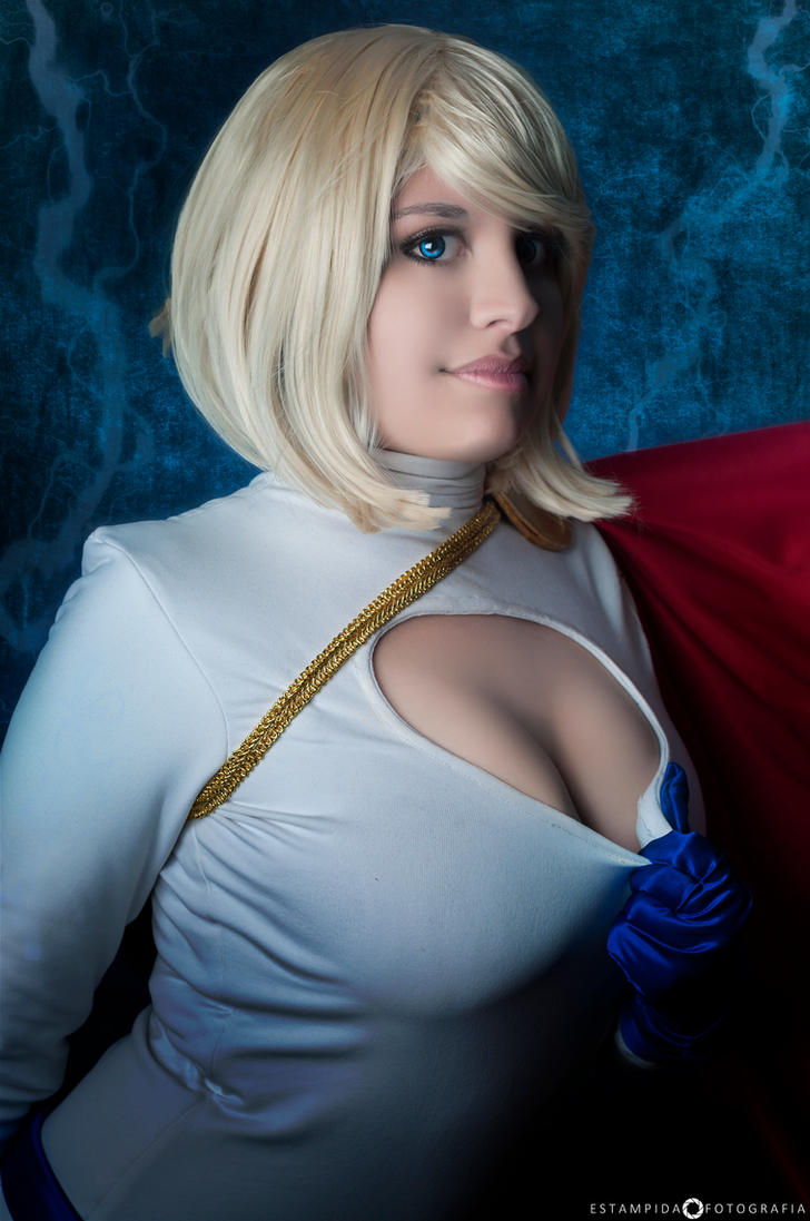 Powergirl III by YutarnaThetys