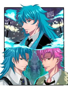 Poseidon, Kanon y Eo Saint Seiya Awakening