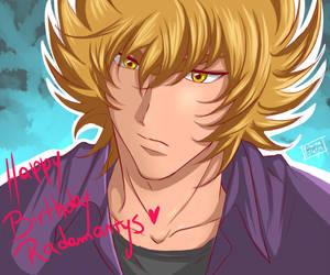 Happy Birthday Radamanthys