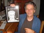 Meiert Avis and Caricature by LeevanCleefIII