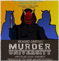 MURDER UNIVERSITY Fan-Art Poster #2 by LeevanCleefIII
