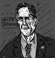 Gov. Mitt Romney Portrait by LeevanCleefIII