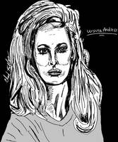 Ursula Andress Portrait by LeevanCleefIII