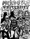 MURDER UNIVERSITY (black and white version)