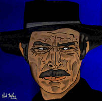 Lee Van Cleef Angel Eyes Portrait by LeevanCleefIII