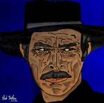 Lee Van Cleef Angel Eyes Portrait