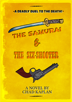 The Samurai and the Six-Shooter book cover by LeevanCleefIII