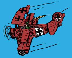 Enemy Ace: Fokker Dr.1 by LeevanCleefIII