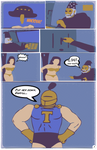 Iron Taint Comic Page 1
