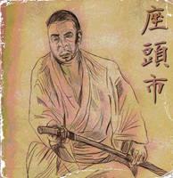 Zatoichi Drawing V.2.0 by LeevanCleefIII
