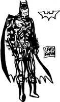 Batman Design Character Sheet by LeevanCleefIII