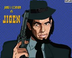 James Coburn as Jigen by LeevanCleefIII