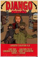 DJANGO UNCHAINED (fan art poster #2) by LeevanCleefIII