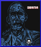 President Barack Obama (first second term drawing)