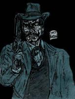 Dandy Gunslinger by LeevanCleefIII