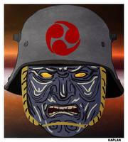 Steampunk Samurai by LeevanCleefIII