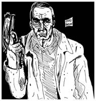 Gangster Drawing by LeevanCleefIII