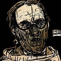 Hannibal Lecter by LeevanCleefIII