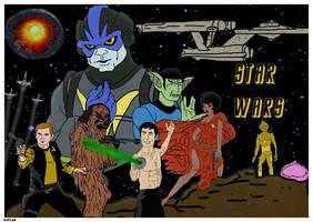J.J. Abrams' STAR WARS by LeevanCleefIII