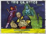 Galaxy Trio- Italian Poster