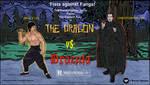Bruce Lee THE DRAGON VS. DRACULA (movie poster)