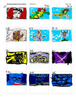 X-Men TAS Intro Reverse Storyboard03 by LeevanCleefIII