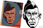 Lee Marvin Dell Comics Master Study
