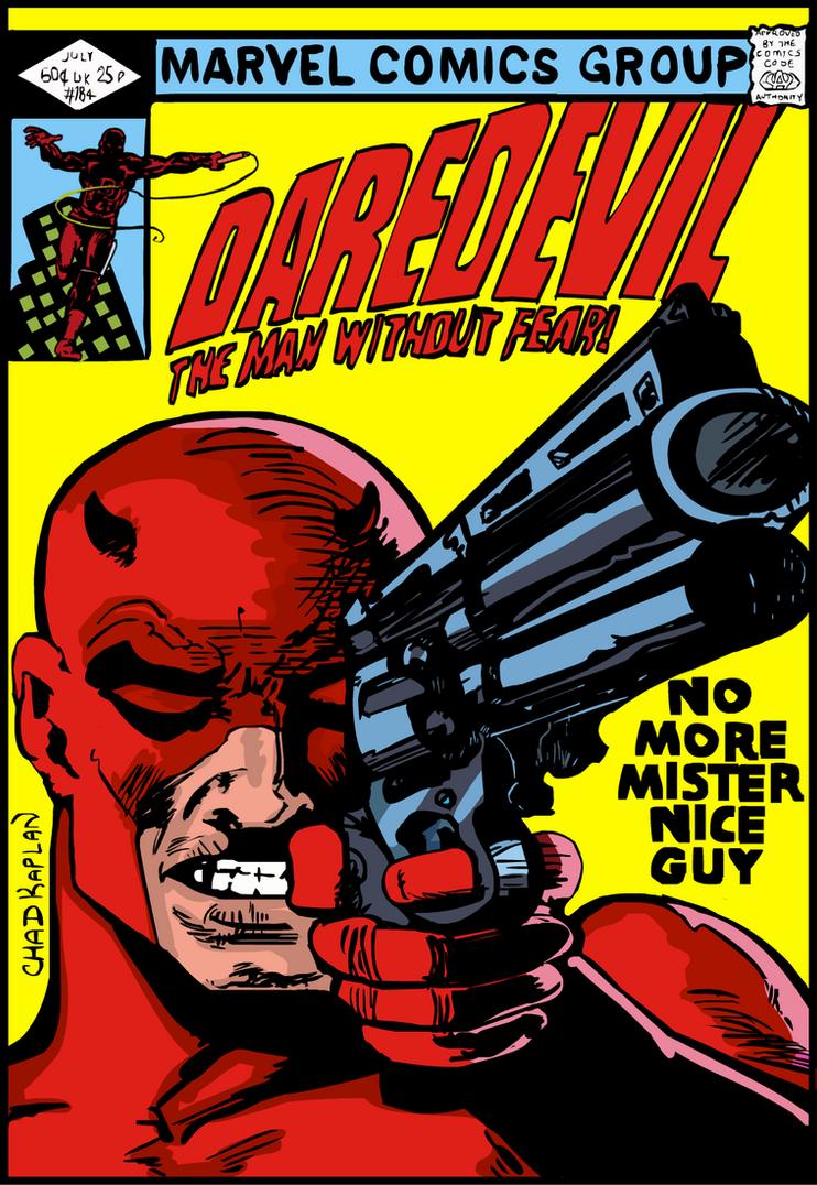Daredevil 184 Cover Master Study By LeevanCleefIII