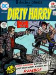 Dirty Harry vs. Rambo (Jack Kirby Tribute)