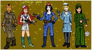 Disney Princesses (WWII Re-Imagining) by LeevanCleefIII