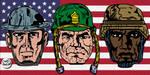 War Faces by LeevanCleefIII