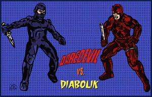 Daredevil vs. Diabolik by LeevanCleefIII