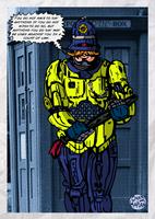 British Robocop by LeevanCleefIII
