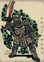 Silver Samurai Redesign by LeevanCleefIII
