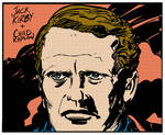 Jack Kirby 'The Prisoner' Inks and Color