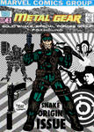 Metal Gear comic (Nick Fury reimagining)